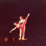 Linda Hindberg, Rudolf Nurejev rehearsing The Flower Festival in Genzano (Bournonville)